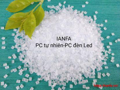 Hạt nhựa PC LED WHITE