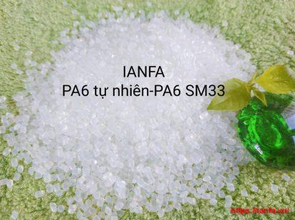 Hạt nhựa tự nhiên PA6 SM33